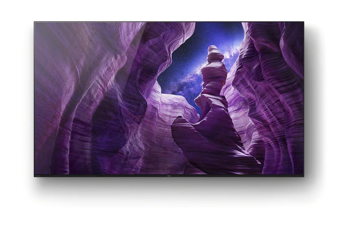 4K HDR OLED-Fernseher der A8-Serie von Sony neu im Handel - Bild 1 von 4