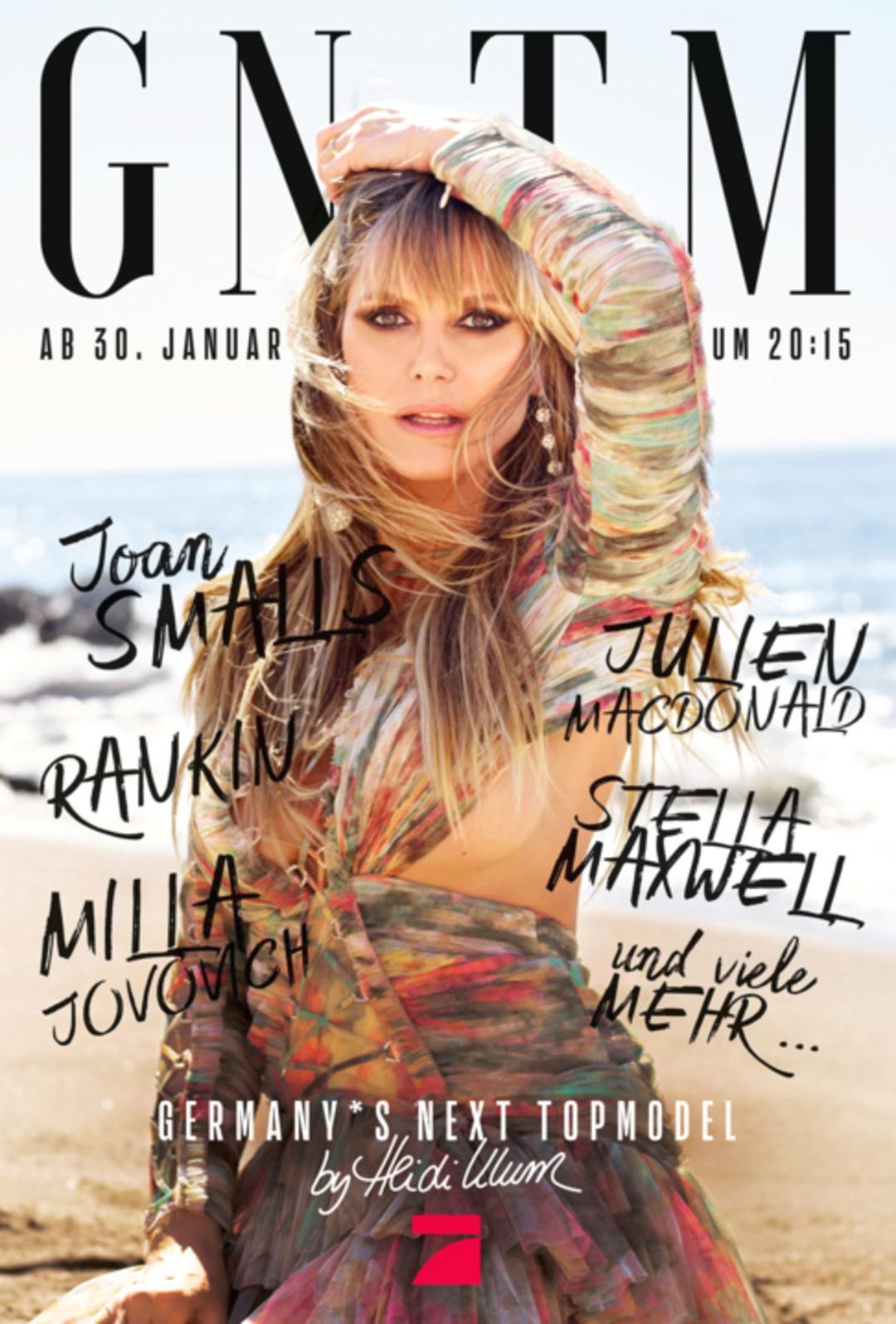 GNTM 2020: Topmodel Stella Maxwell zeigt Heidi Klums Mädels den perfekten Walk in Folge 2 - Bild 1 von 4