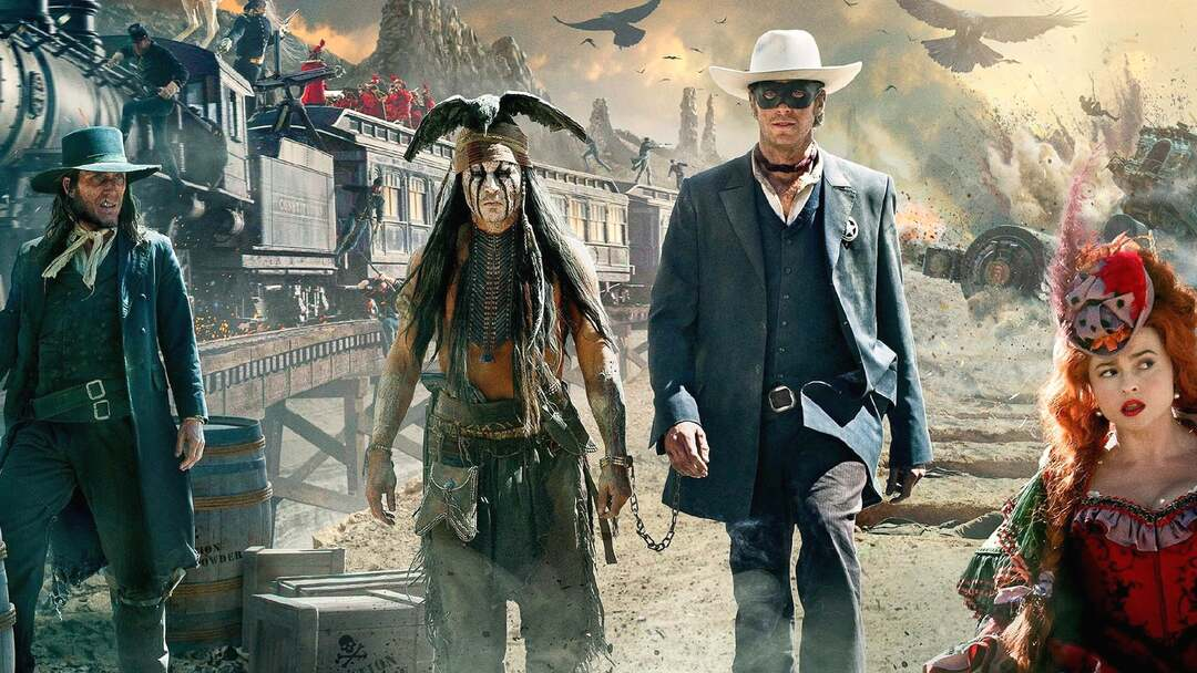 Lone Ranger Trailer - Bild 1 von 2