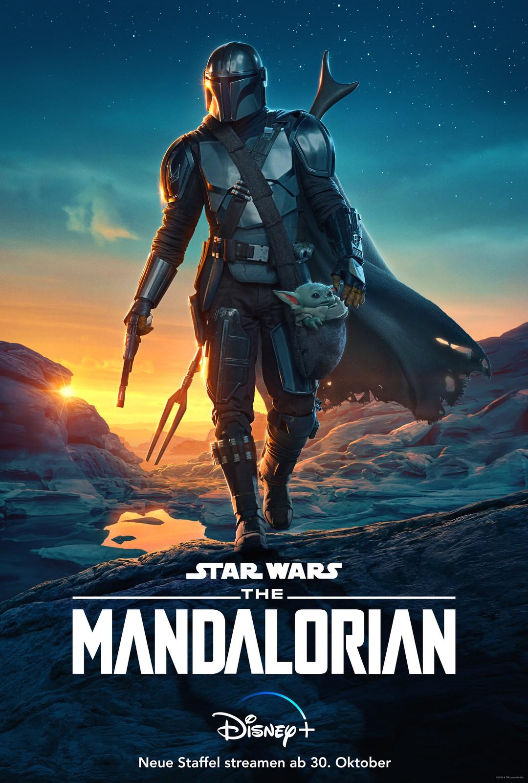 The Mandalorian: Neue Poster zu Staffel 2 zeigen Hauptfiguren - Bild 1 von 6