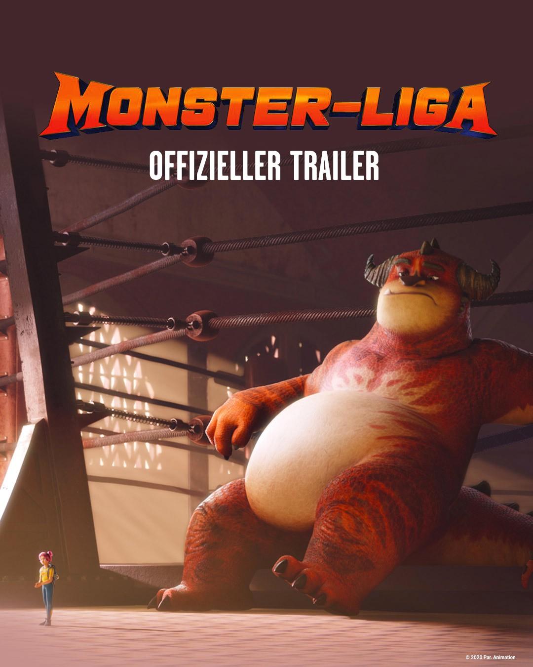Monster-Liga Trailer - Bild 1 von 1