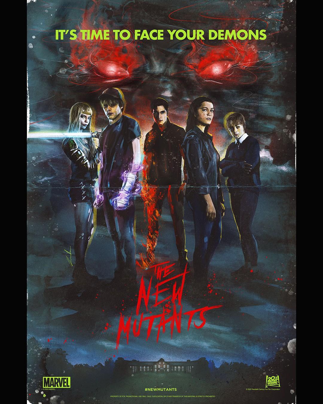 Comic-Con zeigt 5 neue Poster zu The New Mutants - Bild 1 von 6