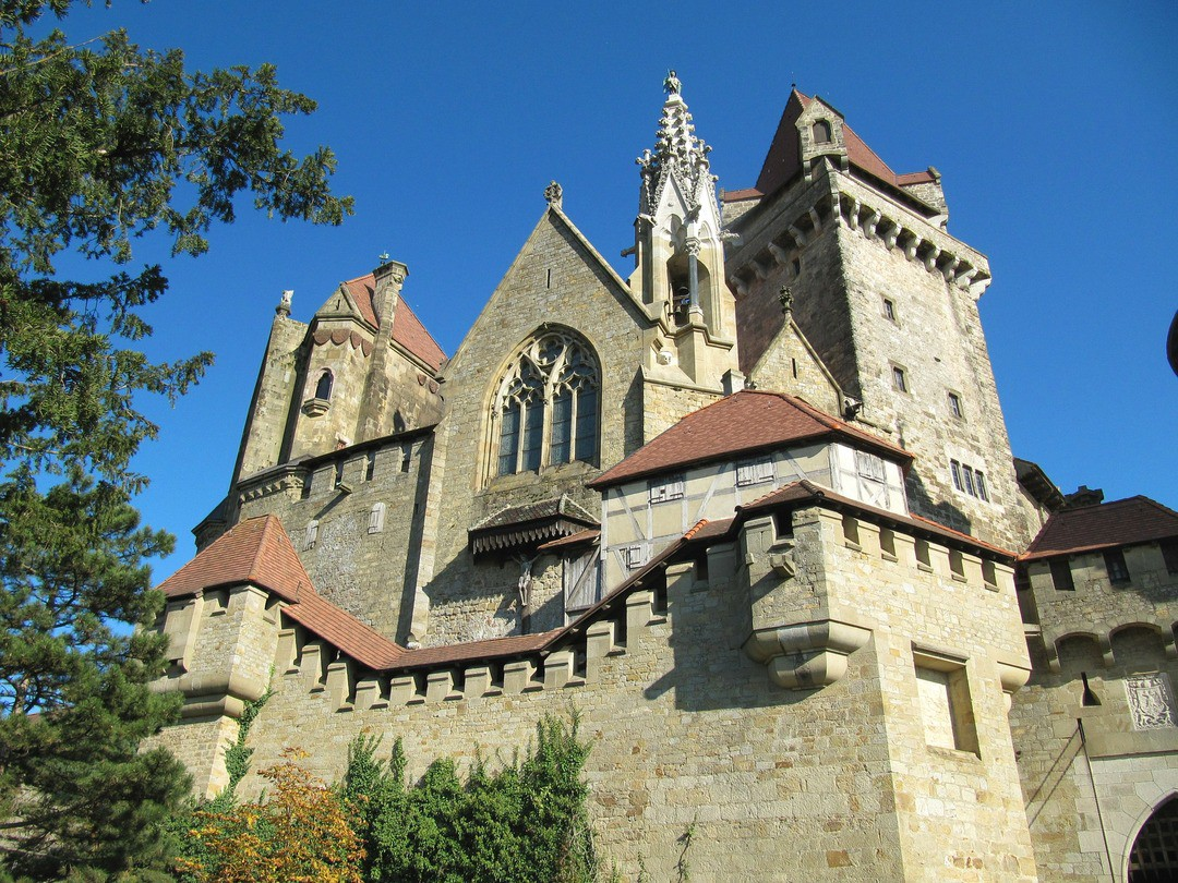 Die Burg Vajdahunyad in Budapest