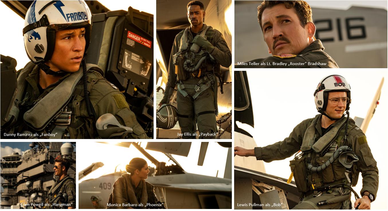 Top Gun 2 - Maverick: Das sind die neuen Piloten - Bild 1 von 8