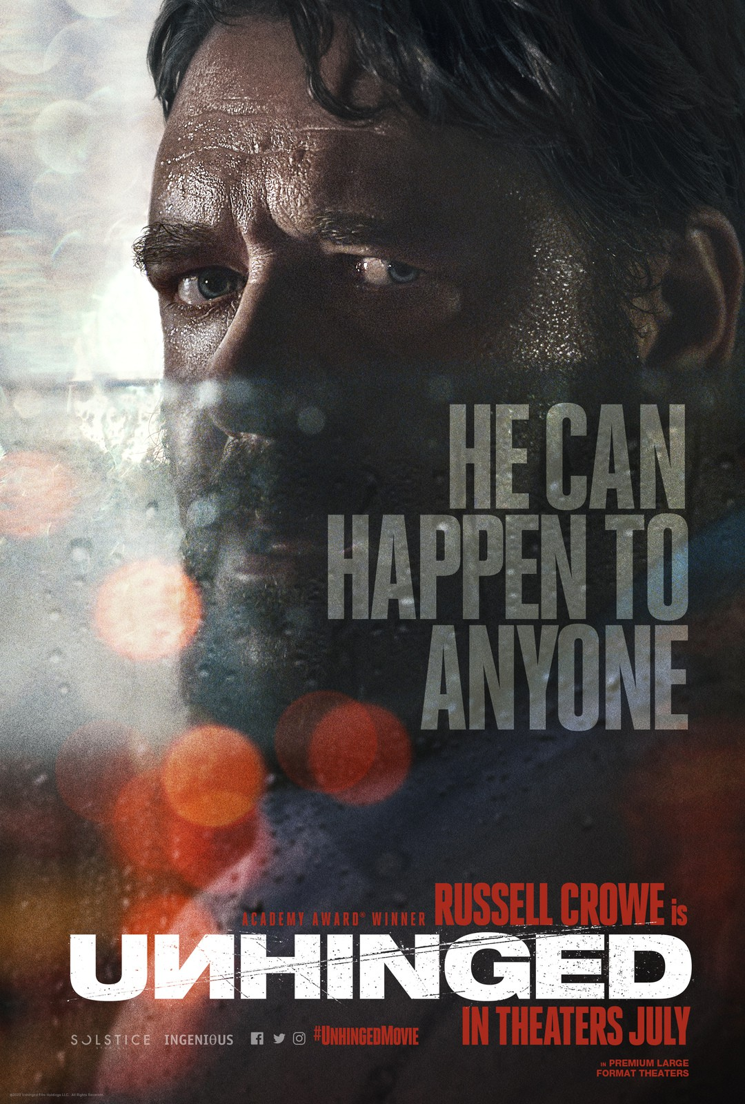 Unhinged: Russell Crowe eskaliert im ersten Trailer - Bild 1 von 2