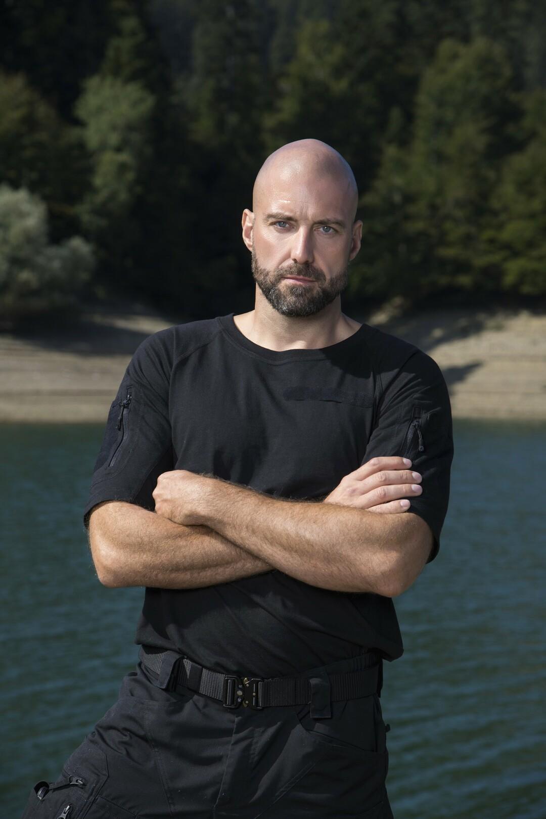 Julien Kottysch, 38, Berufssoldat