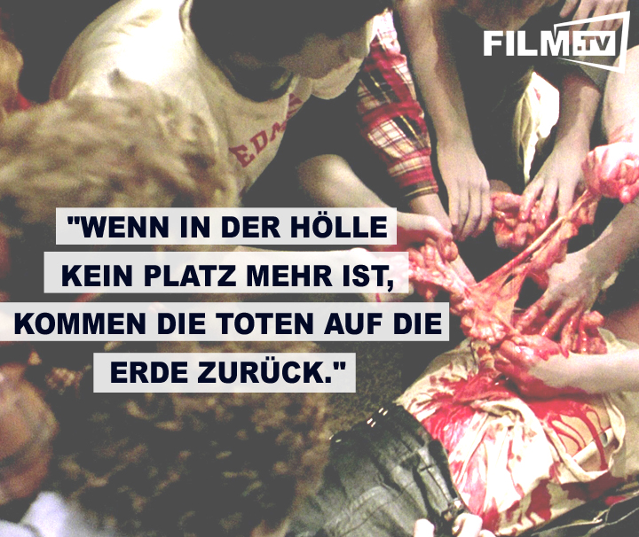 Zombiefilm-Meister George A. Romero brachte uns: Dawn Of The Dead!