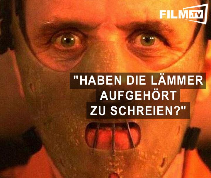 Top 25 zitate aus horror filmen bild 13 von 25 trailerseite film tv - Hannibal lecter zitate ...