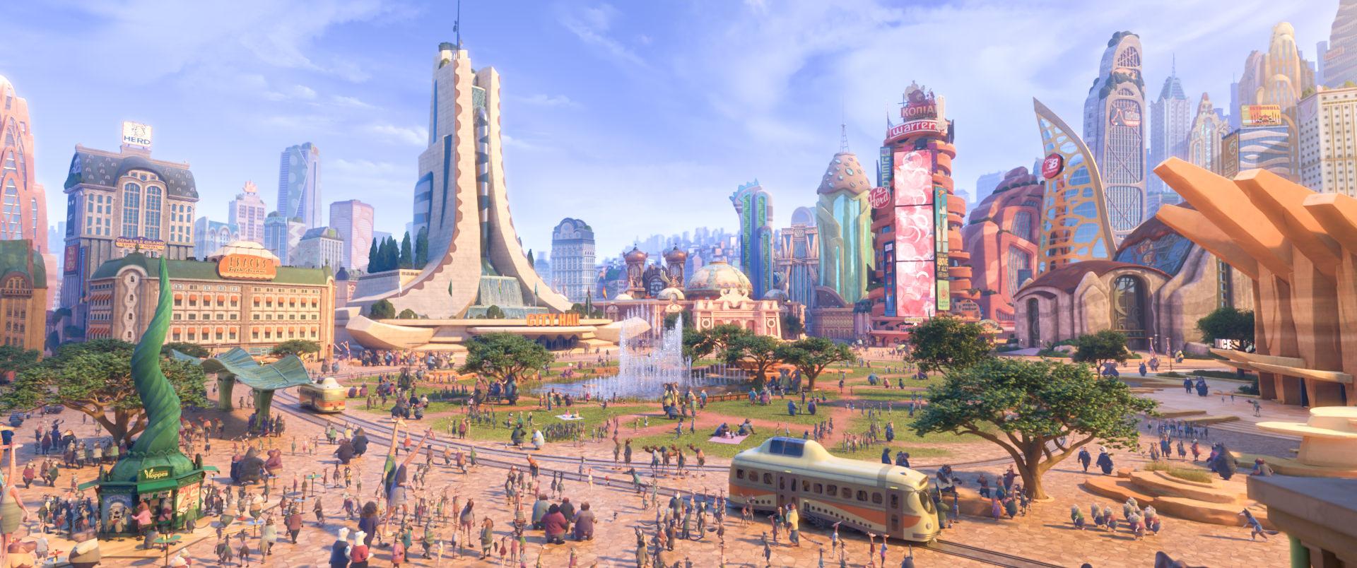 EXKLUSIV BEI FILM.TV: Neue Bilder aus Disneys ZOOMANIA